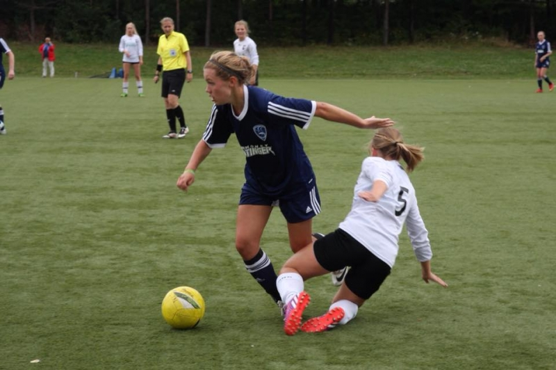 Natalie Bohlmann in Norway Cup