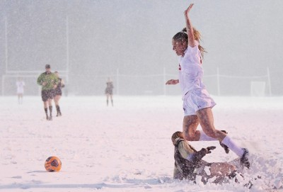 Soccer in the Snow in Steamboat