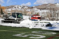 Steamboat Springs High School Gardner Field Snowcat