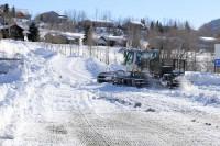 Steamboat Springs High School Gardner Field Snowcat