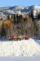 Steamboat Springs High School Gardner Field Snow Pile Women