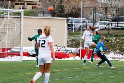 Delaney Moon's Header proved to be Game Winner against Delta.