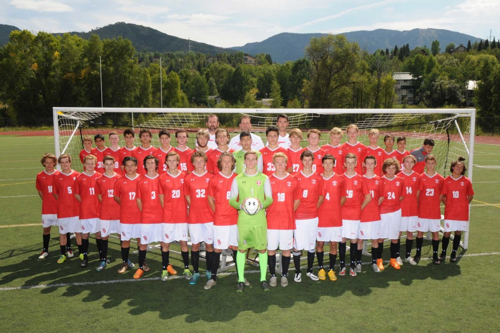 2016 Steamboat Springs High School Boys Soccer Team
