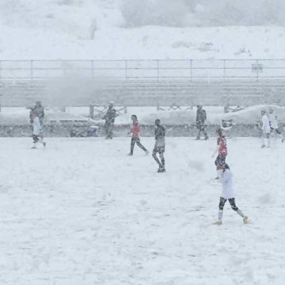 Snow game - Steamboat vs Summit 3-28-2017