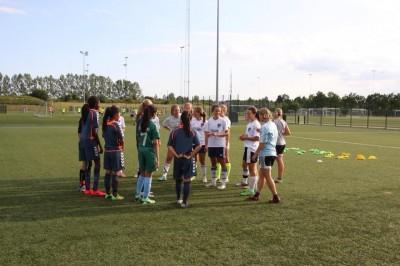 Brøndby IF Girls Traning