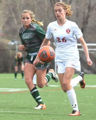Sophie Leeson - Steamboat Soccer vs Summit