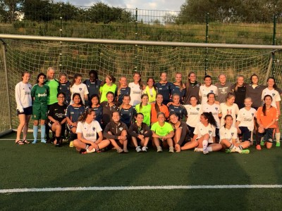 Steamboat SOCCER girls training in Denmark, Europe Brøndby IF Girls