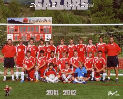 2011 Men's SSHS Soccer Team